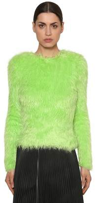 Balenciaga Faux Fur Sweater