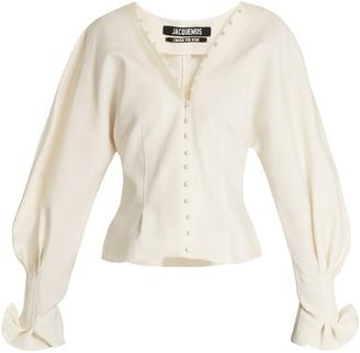 La Chemise Boutons canvas blouse