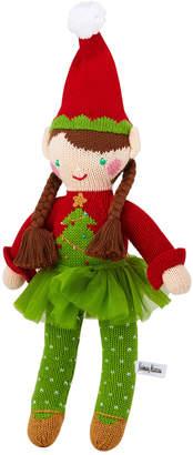 Zubels Christmas Tree Girl Elf Doll, 14
