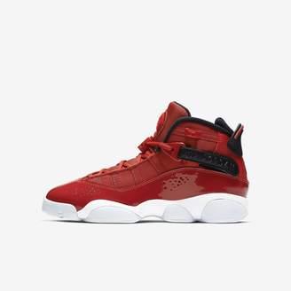 Jordan Boys' Shoe (3.5y-7y 6 Rings