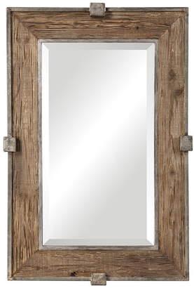 Uttermost Siringo Weathered Wood Mirror
