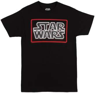 Star Wars Toy Zany Neon Logo Mens T-Shirt | L