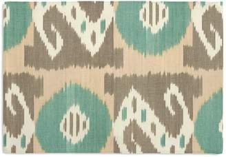 Loom Decor Placemats, Set of 4 XOXO - Teal