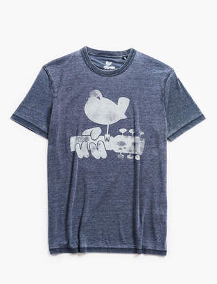 Lucky Brand WOODSTOCK BURNOUT TEE