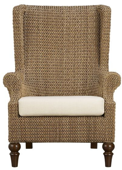 Plantation Wing Chair with Cushion