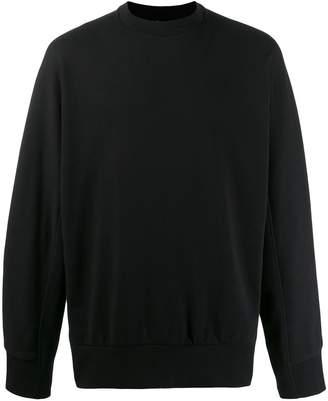 Y-3 printed logo sweater