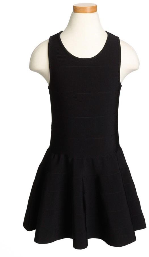 Milly Minis Pleated Tank Dress (Big Girls)