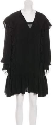 Etoile Isabel Marant Ruffled Mini Dress