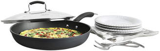 JCPenney EPICURIOUS Epicurious 13 Hard-Anodized Fry Pan with Lid