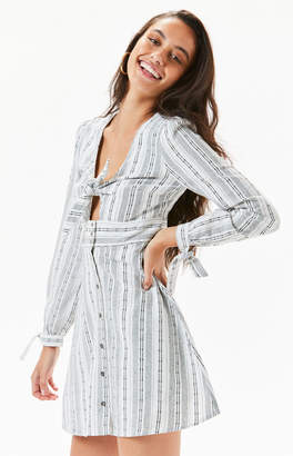 Lost + Wander Gypset Striped Mini Dress