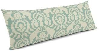 Loom Decor Large Lumbar Pillow Cirque Du Scroll - Aqua Foam