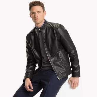 Tommy Hilfiger Leather Moto Jacket