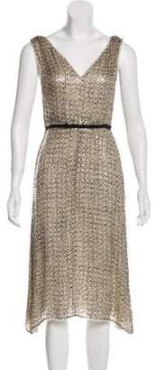Prada Sequin Midi Dress