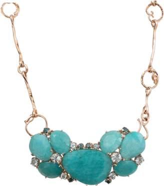 FEDERICA RETTORE Amazonite Necklace With Aquamarines