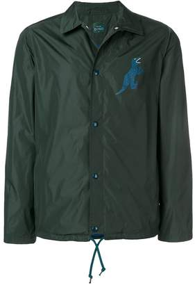 Paul Smith Dino print coach jacket