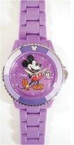 Disney (ディズニー) - [ディズニー]Disney 腕時計 トイウォッチ Mickey Mouse ミッキーマウス パープル D91084SVPU メンズ