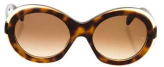 Oliver Goldsmith Audrey Round Sunglasses brown Audrey Round Sunglasses