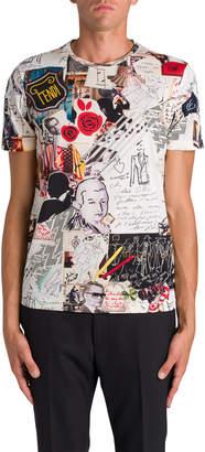 T-shirt Karl Kollage Multi