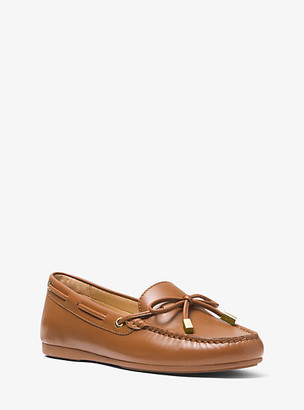 Michael Kors Sutton Leather Moccasin