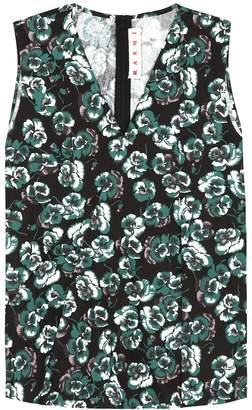 Marni Sleeveless cotton top