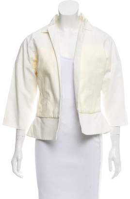 Halston Casual Open-Front Jacket