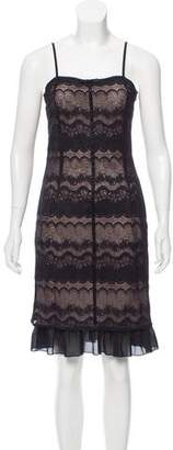Tibi Lace Knee-Length Dress