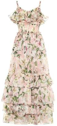 Dolce & Gabbana Floral silk-organza gown