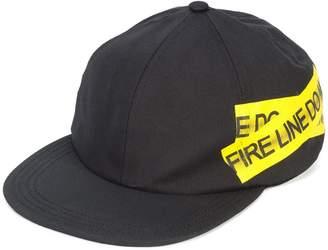 Off-White Fire Tape cap