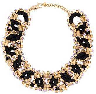 DSQUARED2 crystal embellished necklace