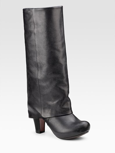 Chie Mihara Tall Cuffed Boots