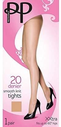 Pretty Polly Women's Denier Smooth Knit Tights