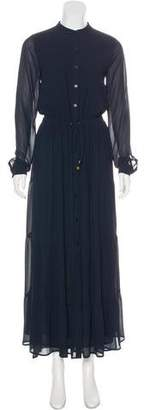 MICHAEL Michael Kors Maxi Button-Up Dress w/ Tags