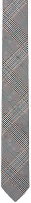 BOSS Grey Check Tie