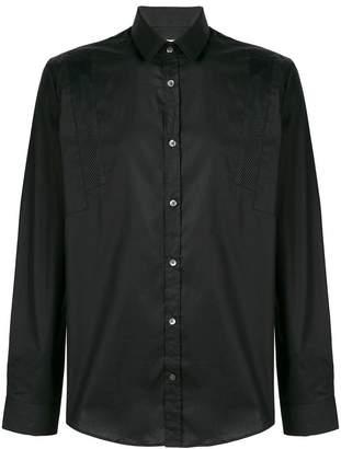 Les Hommes Urban mesh panels shirt