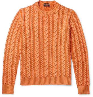 Tod's Cable-Knit Merino Wool Sweater