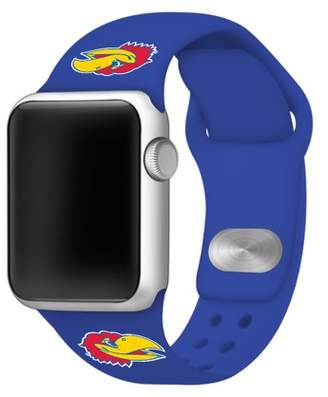 Affinity Bands Kansas Jayhawks Silicone Sport Band fits Apple Watch - BAND ONLY (42mm Jayhawk)