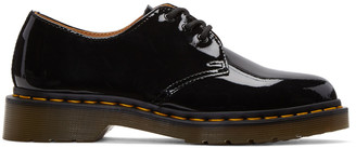 Dr. Martens Black Patent Three-Eye 1461 Derbys $110 thestylecure.com