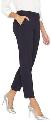 Dorothy Perkins **Tall Navy Ankle Grazer Trousers