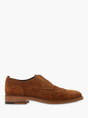 Dune Bagatelle Suede Derby Brogues