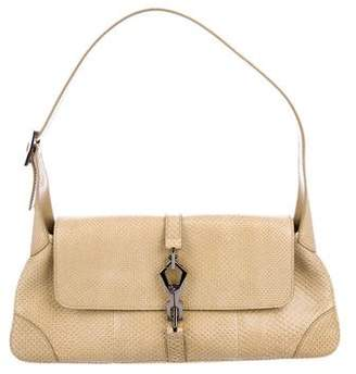 Gucci Lizard Jackie O Flap Bag