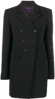 Ralph Lauren long double-breasted blazer