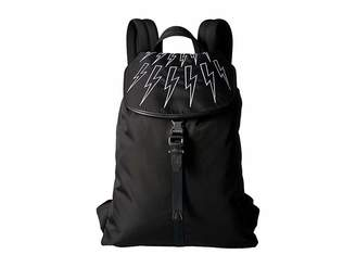 Neil Barrett Thunderbolt Knapsack Backpack Bags
