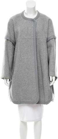 Chloé Chloé Wool Coccoon Coat w/ Tags
