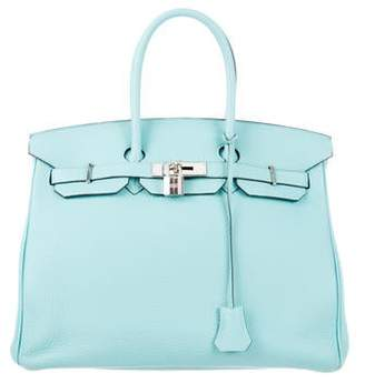 42478c4d74e6 Pre-Owned at TheRealReal · Hermes 2015 Clemence Birkin 35
