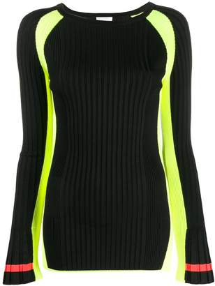 Escada Sport ribbed knit top