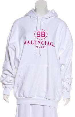 Balenciaga Oversize Hooded Sweater