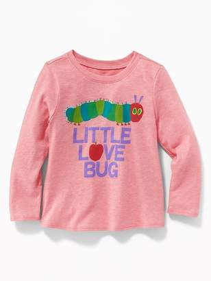 """Old Navy The Very Hungry Caterpillar """"Little Love Bug"""" Tee for Toddler Girls"""