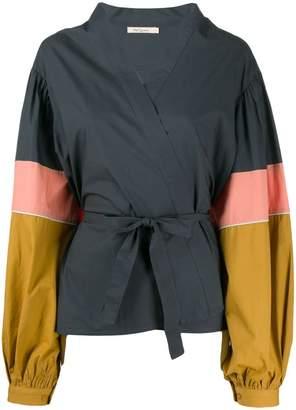 b44442d59e7f Mes Demoiselles colour-block blouse