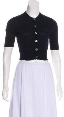 Burberry Merino Wool Button-Up Cardigan