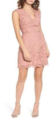J.o.a. Lace Minidress